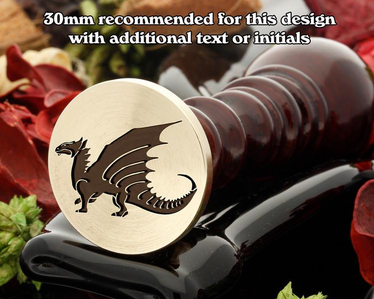 Dragon D4 Wax Seal Stamp