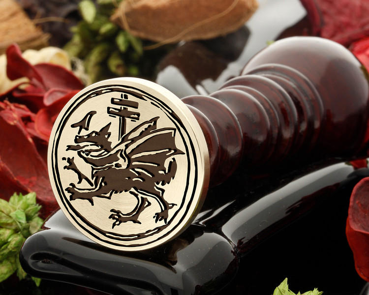 Knights Dragon Wax Seal