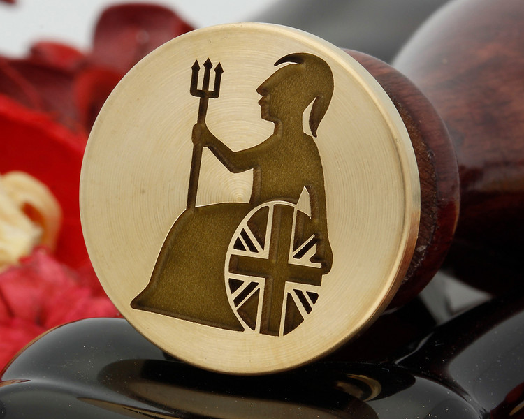 Britannia wax seal design