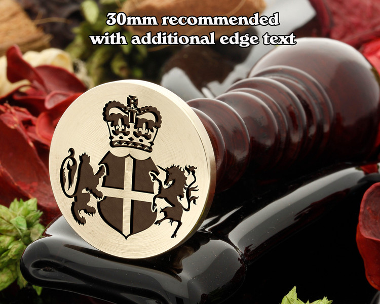 Royal Crest wax seal