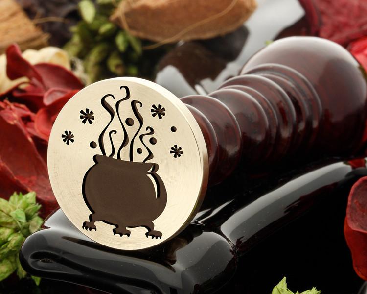 Cauldron Wax Seal Stamp