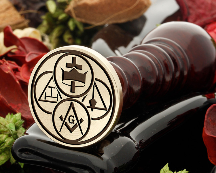 MASONIC - York Rite Bodies 1 Wax Seal