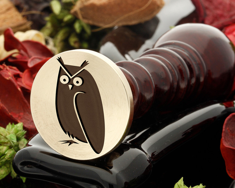 Owl 1 Wax Seal