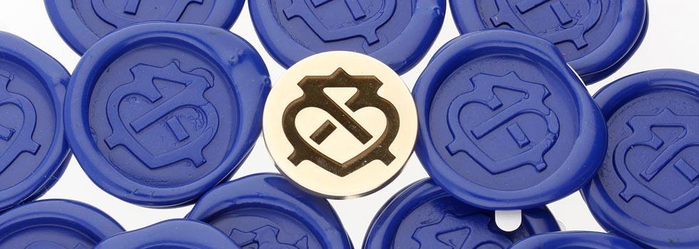 Peel n Stick Wax Seal Impressions