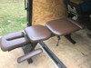 Used Chattanooga Ergo Bench Table with Pelvic Drop-Chocolate Top