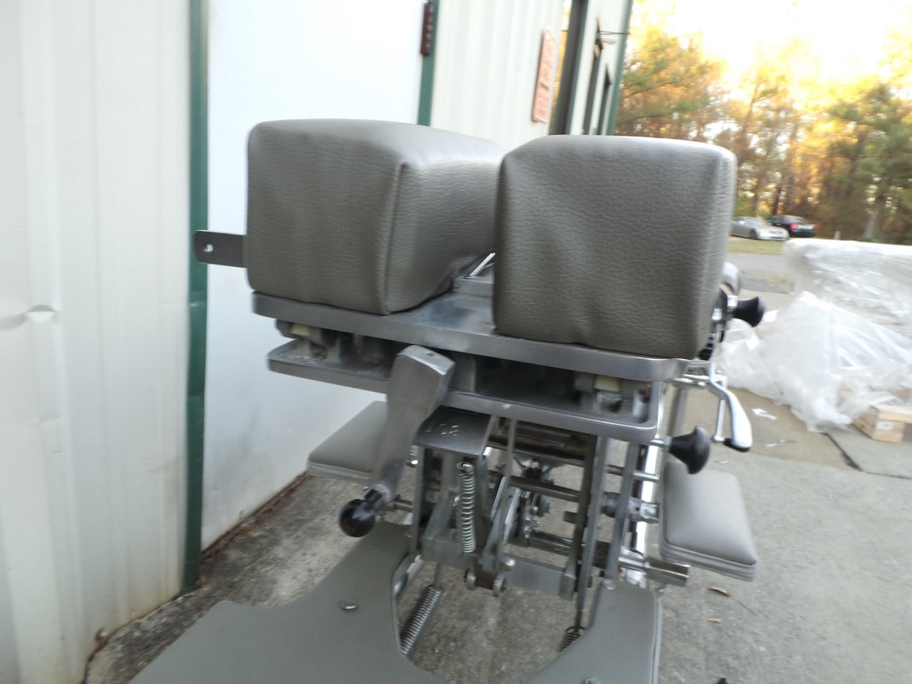 Used Zenith 55F Stationary Table with  Forward Motion Cervical Drop and Tilt Head