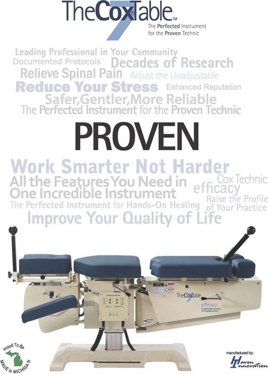 Used Cox 7 Elevation Manual Flexion Table
