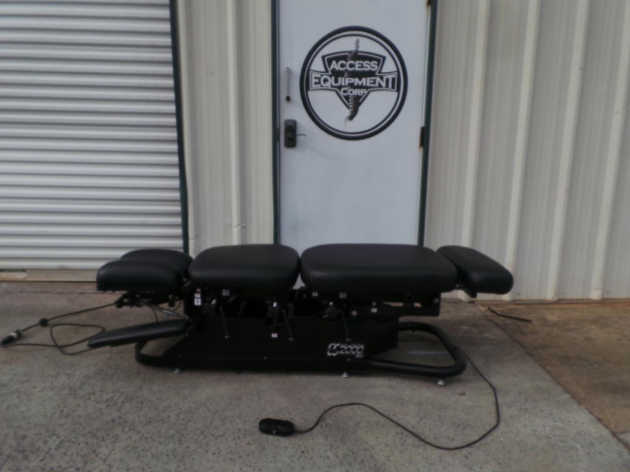 Used Chattanooga ES 2000 Elevation Table- Black Upholstery