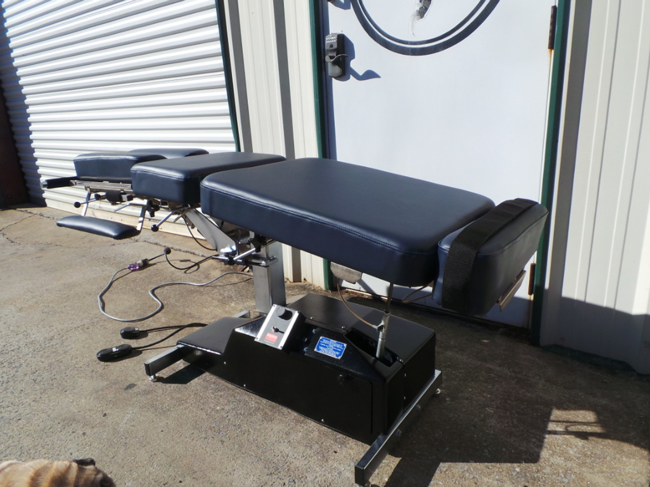 Used Leander Elevation Auto Flexion Table Pelvic Drop