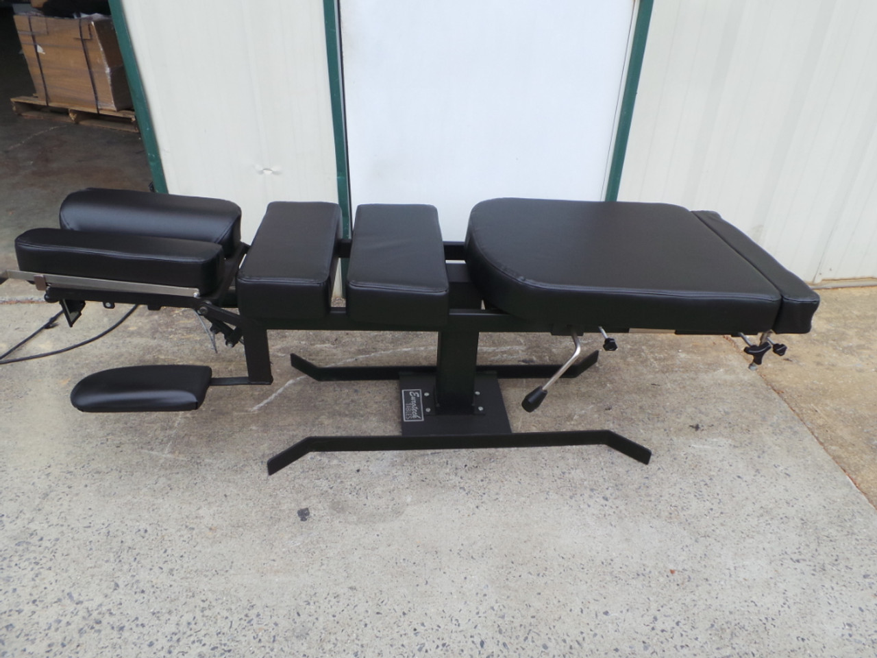 Used Eurotech Stationary Table CD with PD Tilt Head - NEW Black Upholstery