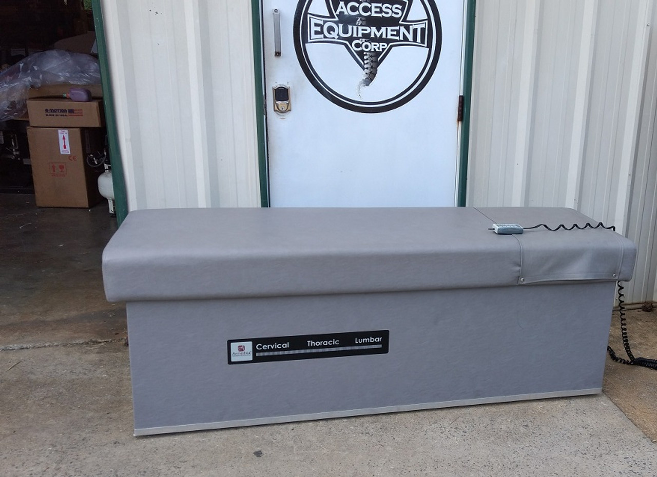 Used Quantum 400  IST Table / Hand Control & EX Wide Top - Light Gray
