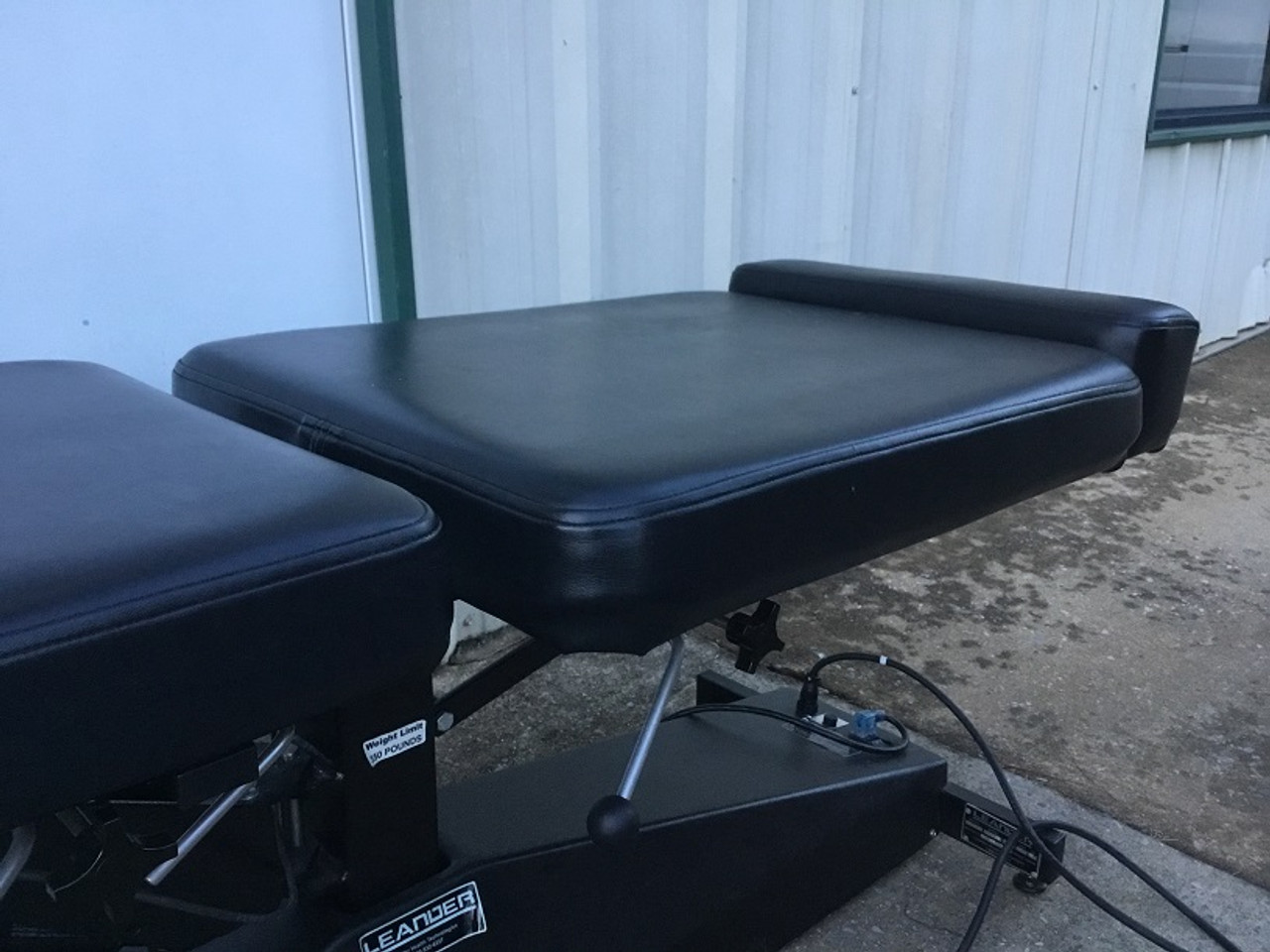 Used Leander Elevation Bench with  Breakaway & Cervical, Chest, & Pelvic Drop