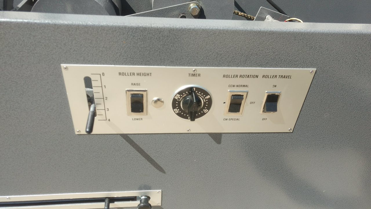 Used F&B Superior IST Table with Accutract - Control Panel