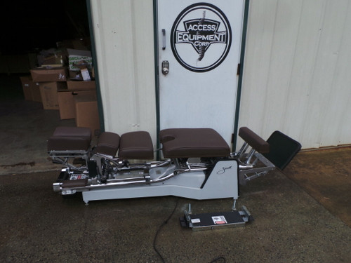 Used Zenith II 220 S Hylo Table with Power Front Section- Standard Footboard