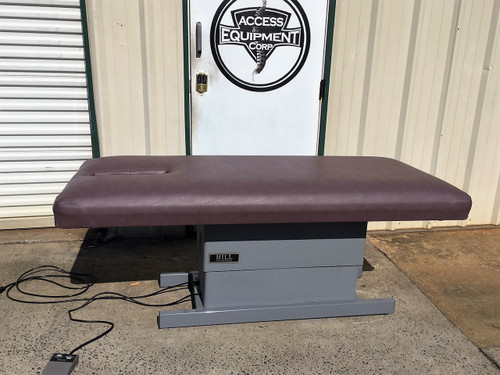Used Hill Elevation Massage Table  with Face Slot