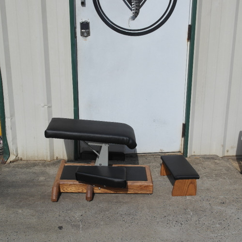 Gonstead Portable Knee Chest - New Black UPHOLSTERY