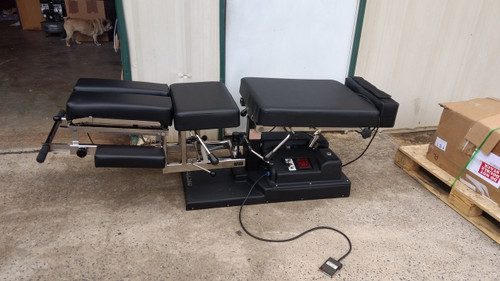 Used Titan Elevation Auto Flexion Table With Pelvic & Cervical Drop