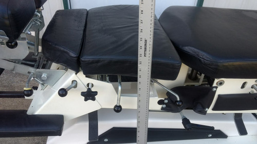 Used Elite Elevation Manual Flexion Table with 22 Inch  to 30 Inch Electric Elevation Height Range