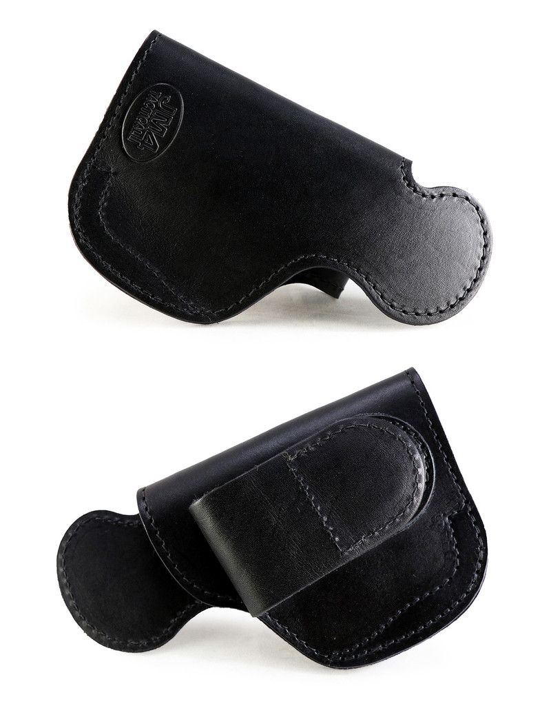 XL Short w/Laser Tuckable High-Ride Magnetic Quick, Click, & Carry Holster