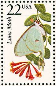 Image result for actias luna stamp