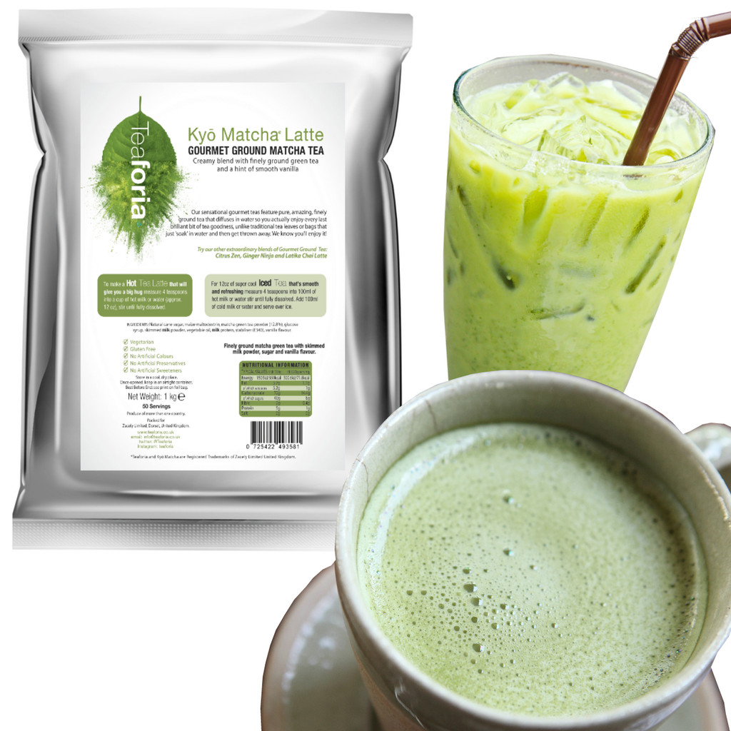 1kg Teaforia Kyō® Matcha Green Tea Latte