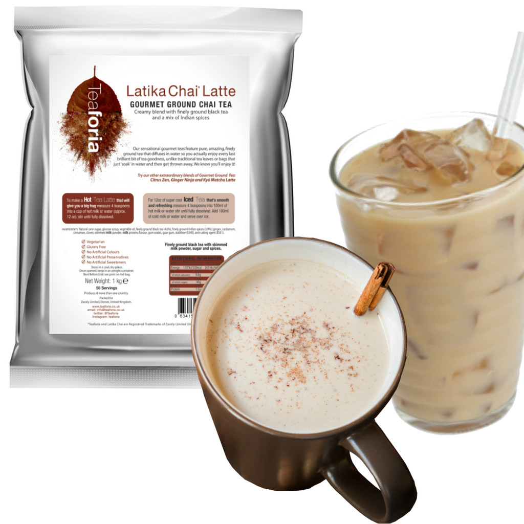 1kg Teaforia Latika® Chai Tea Latte CLEARANCE