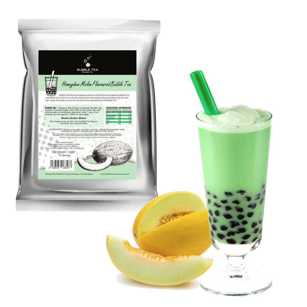 Honeydew Melon Bubble Tea Powder for Coffee Shops and Bubble Tea Stores
