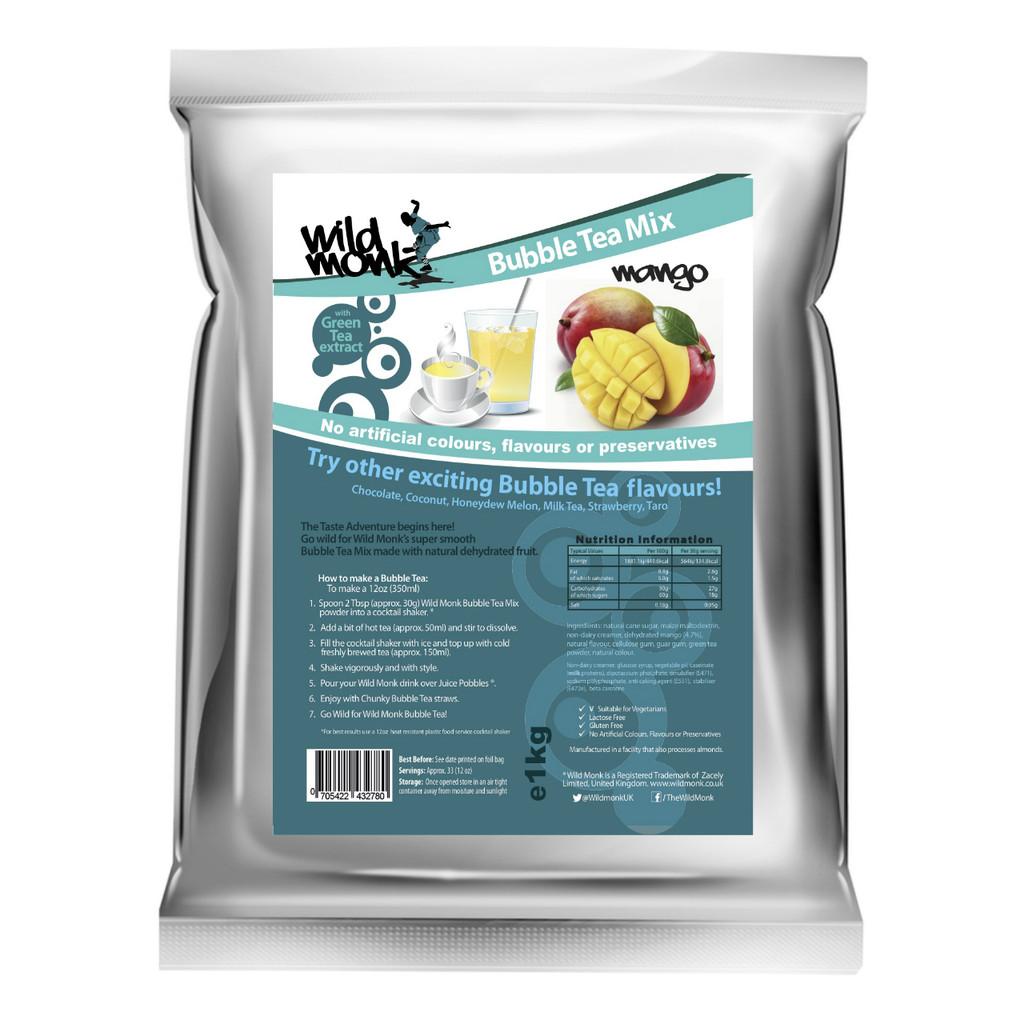 1kg MANGO Bubble Tea Mix WILD MONK