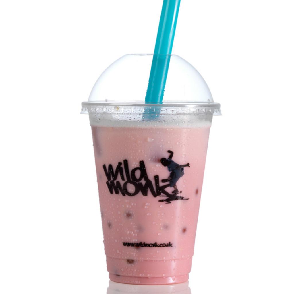 Strawberry Bubble Tea by Wild Monk