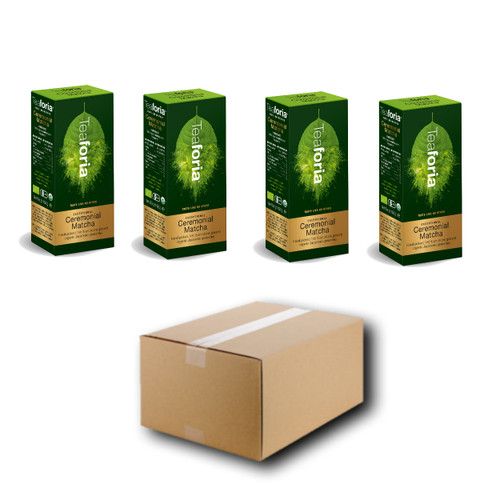 CEREMONIAL Japanese Organic Matcha (Case) - 4 units