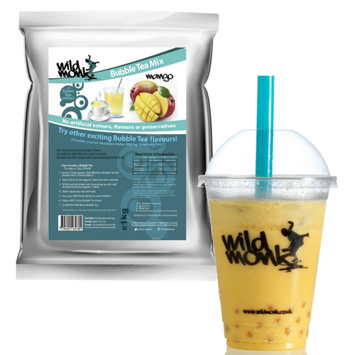 1kg MANGO Bubble Tea Mix WILD MONK