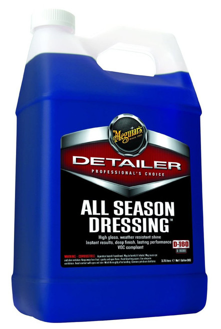 Meguiar's All Season Dressing 1 Gallon