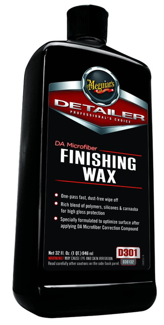 Meguiar's DA Microfiber Correction Finishing Wax 32oz.