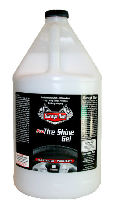 Garage One Pro Tire Shine Gel Concentrate 1 Gallon