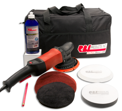 "RBL Detailing – Pro Polisher Kit w/ 6"" Random Orbital Polisher"
