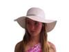 Girls Sun Hat-White