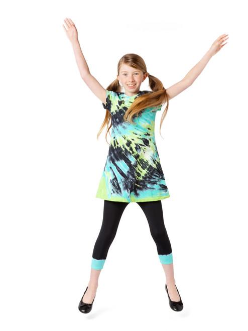 Girls Swirl and Twirl Dress - Butterfly Wings