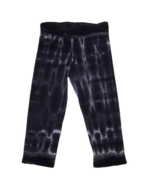 Girls Leggings-Gypsy Love Black bamboo