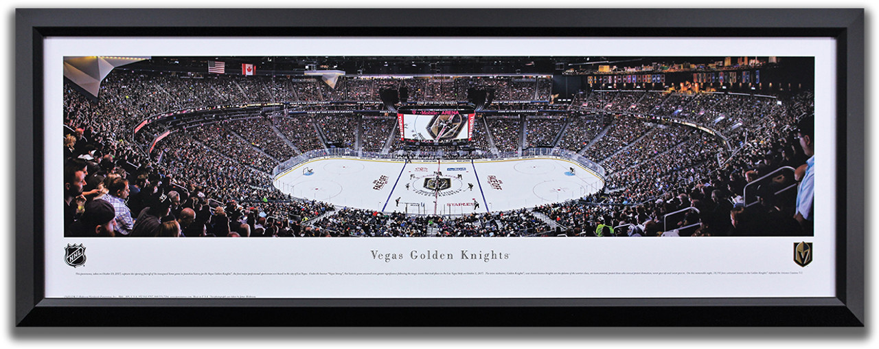 Vegas Golden Knights Inaugural home game opening face-off