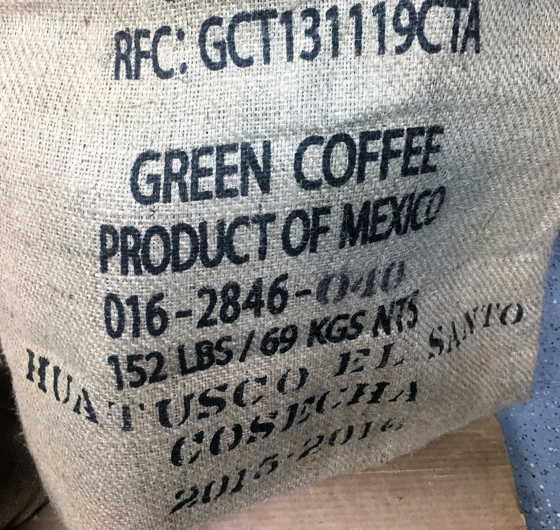 New Arrival!!! Mexican SHG Huatusco El Santo EP(GP) Green & Roasted Coffee Beans