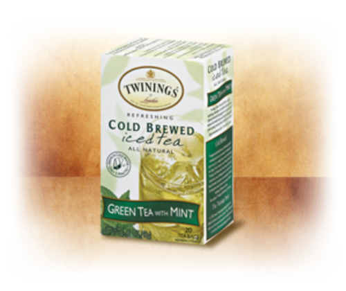 Green Tea With Mint Cold Brewed Iced Tea Twinings of London