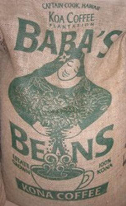 100% Hawaii Kona Fancy Green Coffee Beans