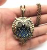 Owl Bronze Necklace