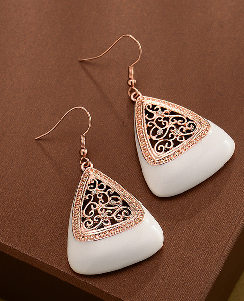 Ivory Indian Earings