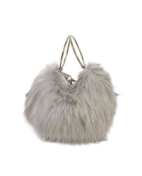 Sample Fake Fur Bag