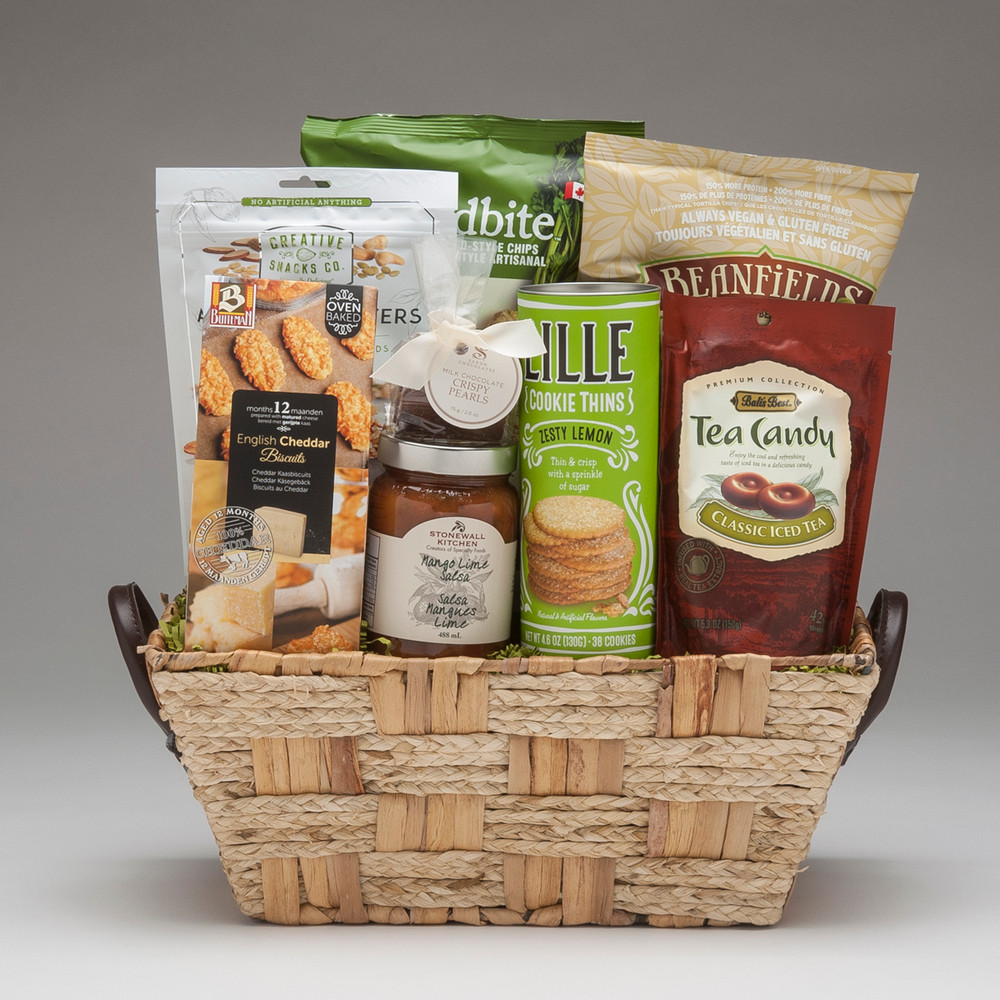 Fresh summer snacks gourmet gift basket this fabulous selection of snacks is very yummybut dare we mention that negle Gallery