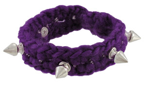 https://s3.amazonaws.com/zeckosimages/81191-knitting-yarn-chrome-spike-bracelet-purple-1I.jpg