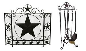 https://s3.amazonaws.com/zeckosimages/DLC-21082-95-SET-brown-metal-fireplace-screen-star-tools-1A.jpg