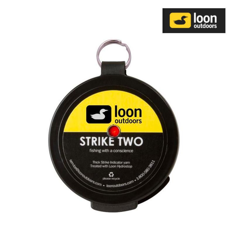 Loon Strike Two Indicator Yarn Orange
