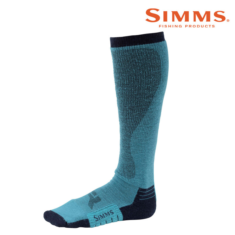 Simms Women's Guide Midweight OTC Sock Side View